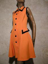 CHIC VINTAGE ROBE 1970 VTG DRESS 1970s KLEID 70er ABITO ANNI SEVENTIES  (40)