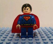"Superman vs Batman Minifigure  Lego Batman Game Superhero ""Man of Steel"" Custom"