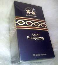 LA MARTINA - ADIOS PAMPAMIA HOMBRE 100ml AFTER SHAVE Aftershave Lotion NEU + OVP