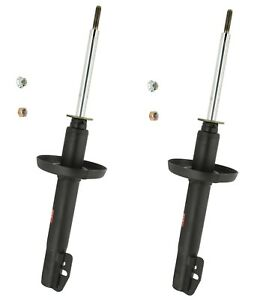 Pair Set of 2 Front KYB Excel-G Suspension Struts For Merkur XR4Ti 1985-1989