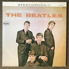 THE BEATLES Introducing the Beatles Record LP