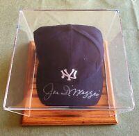 JOE DIMAGGIO Autographed Yankees Hat *COA*
