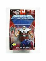 Ram Man Masters of the Universe MOTU Action Figure Mattel 2002 NIB He-Man
