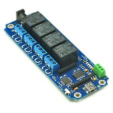 4 Channel USB/Wireless 5V Relay with Password -TOSR140