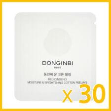 DONGINBI Red Ginseng Moisture & Brightening Cotton Peeling 1mlx30ea