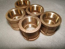 "(5) 1 1/4"" 1.25"" Mpt Brass No Lead Couplings Submersible Water Well Pump Install"