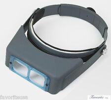 """Donegan OptiVISOR® Binocular Magnifier DA-7, 2-3/4X,6"""""""