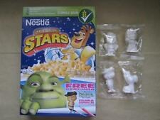 Nestle Phils Cereal EXCLUSIVE Set of 4 SHREK Paintable Figurine Toys