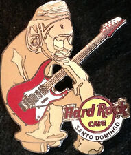 Hard Rock Cafe SANTO DOMINGO 2005 TAINO STATUE PIN with Red Guitar - HRC #32301