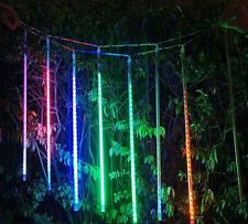 7 Colours Thick Linkable LED Meteor Shower Shooting Star Tube Light 35cm 8 Tubes