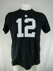 Pittsburgh Steelers NFL Fanatics #12 Terry Bradshaw Men's Big & Tall Tee Flawed