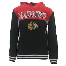 Reebok Chicago Blackhawks Youth Sweatshirt NHL Official Stitched Logo New W Tags