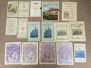 ANTIQUE AND VINTAGE COLLECTION OF THEATRE PROGRAMMES
