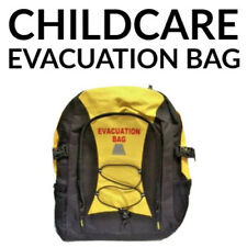 100+ ITEMS CHILDCARE EVACUATION BAG SCHOOL CAMP OHS FIRST AID KIT