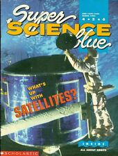 1995 Super Science Scholastic Magazine: What's Up With Satellites