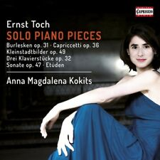 Ernst Toch: Solo Piano Pieces [New CD]