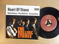 The Rolling Stones ‎– Heart Of Stone , 7'' Single, EP, Germany 1965, Vinyl: vg