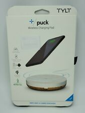 TYLT Puck 10W Wireless Charging Pad (White) FREE SHIPPING Brand NEW