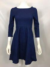 Nordstrom We Clothes Women's Denim 1/2 Sleeve Dress Sz Small $465 I1121