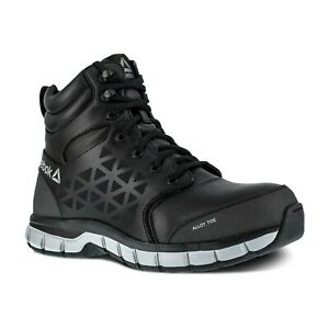 Reebok Work Men's Sublite Cushion Alloy Toe Comfort Athletic Work Boot  - All Co
