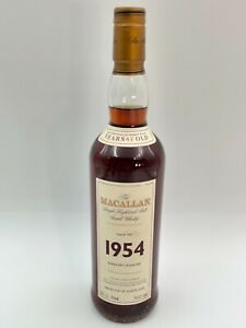 WHISKY MACALLAN 1954 47 YEARS OLD FINE AND RARE MALT 70cl. 50.2% DUMMY BOTTLE