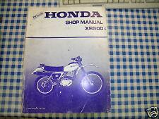 BB 6242900 Werkstatthandbuch Honda XR 500 S Ausgabe 1979