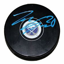 ZEMGUS GIRGENSONS SIGNED Buffalo SABRES Puck LATVIA NHL ALL-STAR AUTOGRAPHED COA