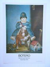 FERNANDO BOTERO- OFFSET - verkleinerte genehmigte Reproduktion - Ausstellungspl.