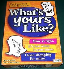 2007 WHAT'S YOURS LIKE? Party Game - Complete - Excellent Contents!