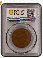 1922 Australian PreDecimal KGV Penny English Obverse PCGS Grade aUncirculated 55