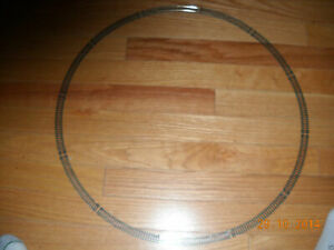 "MODEL POWER ""N"" SCALE COMPLETE CIRCLE SET TRAIN TRACK CIRCLE IS ABOUT 20"" WIDE"