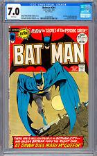 BATMAN #241 CGC 7.0 BERNIE WRIGHTSON NEAL ADAMS DENNY O'NEIL DICK GIORDANO 1972