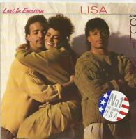 Lisa Lisa And Cult Jam - Lost In Emotion / Motion Is Lost (Vinyl-Single 1987) !!