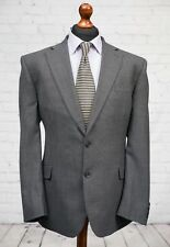 M&S Single Breasted Wool Blend Grey Suit Jacket 46R