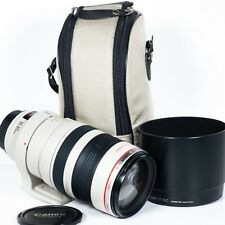 Canon EF 100-400mm f/4.5-5.6 L IS Lens in immaculate condition