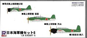 Skywave IJN Aircraft Set #6, Zero Type 52, Judy, Jill in 1/700 S34 ST