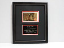 TY COBB **RARE MEMORABILIA COLLECTIBLE - MINIATURE ART IN GOLD**