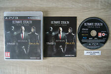 Ultimate Stealth Triple Pack Thief Hitman Deus Ex Human Revolution  PS3 Games