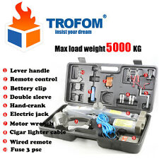 5 Ton Wireless Remote Control Auto Electric Car Hydraulic Floor Jack Lift SUV