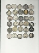BRD 30 5 Mark in Silber darunter 4 x Leibnitz u 2x Humboldt