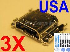 3x Micro USB Charging Port For Samsung Galaxy Tab 4 SM-T337A SM-T337V SM-T337T