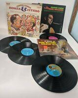 Country Music Record LP Lot of 3 Homer Jethro Comedy George Jones Hank Williams