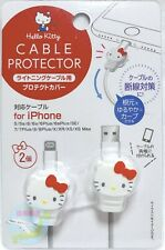 SANRIO Hello Kitty KAWAII iPhone Lightning Cable Protector Protective Cover 2pcs