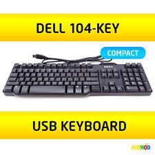 DELL RT7D50 SK-8115 US 104-Key USB WIRED PC Windows Desktop Slim Keyboard