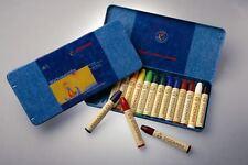 Stockmar wachsmalstifte en chapa estuche 16 plumillas colores despierta lápices de cera! nuevo!
