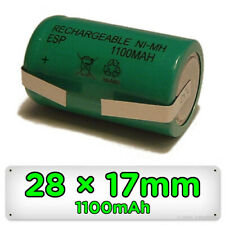 Toothbrush Replacement Battery for Braun Oral-B 28mm x 17mm Ni-MH Rechargeable