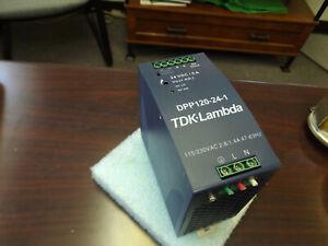 WHOLESALE LIQUIDATION TDK-LAMBDA DPP120-24-1 115-230 VAC 24VDC/5A POWER SUPPLY