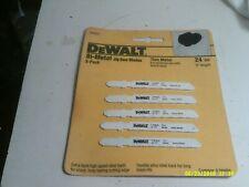 PACK OF 5 BEWALT DW3630 JIG SAW BLADES