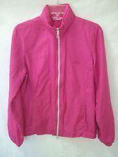 CALLAWAY GOLF Pink Full-Zip Jacket w-Tuckaway Hood sz S