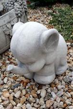 """Gartenfigur"""" Elefant """" 35 cm Skulptur, Steinguss,Tierfigur, Elefant, Gartendeko"""
